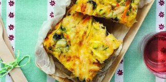 Veggie-packed frittata Easy Food