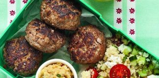Mini burgers with couscous Easy Food