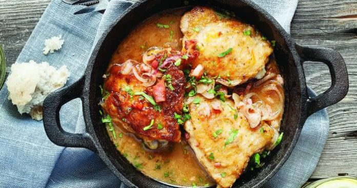 One-pan chicken Easy Food