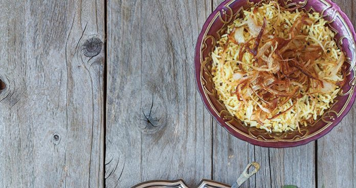 Indian rice Easy Food