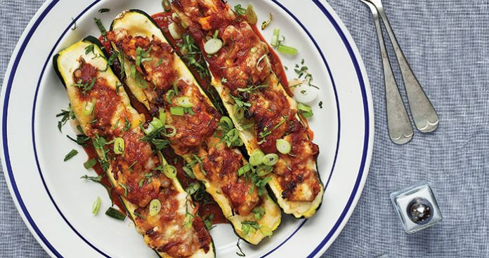 Enchilada stuffed courgettes Easy Food