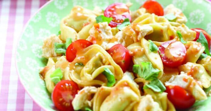 Caprese tortellini salad Easy Food