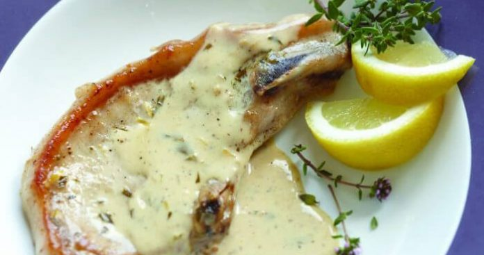 Lemon and thyme pork chops Easy Food