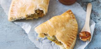 Curried lentil pasties Easy Food