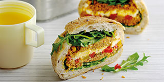 Vegetarian lunches Easy Food