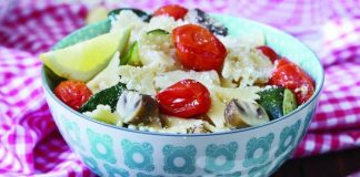 Summer vegetable pasta Easy Food