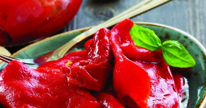 Roasted peppers Easy Food