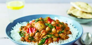 curried vegetable and chickpea stew Easy Food
