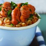 Salmon and orzo Easy Food