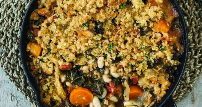 Veggie cassoulet Easy Food