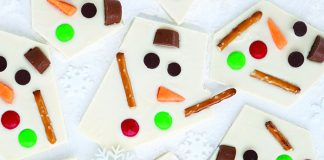 Melted snowman bark Easy Food