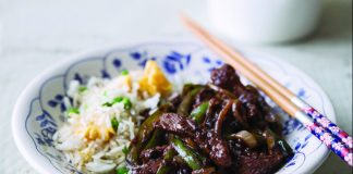 beef green pepper black bean sauce Easy Food