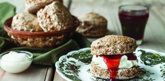 Brown bread scones Easy Food