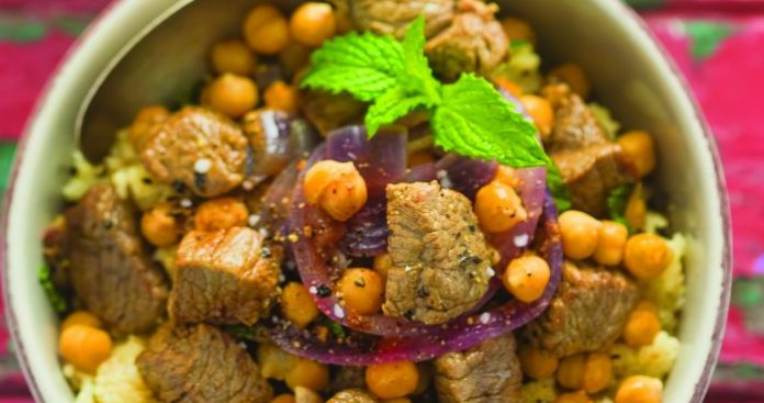 Moroccan spiced lamb Easy Food
