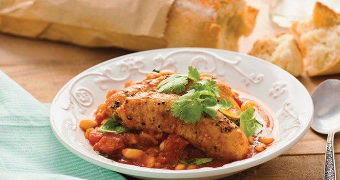 Tuscan sausage and beans Easy Food