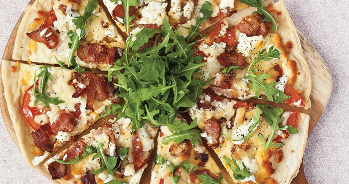 BLT pizza Easy Food