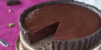 Chocolate mint tart Easy Food