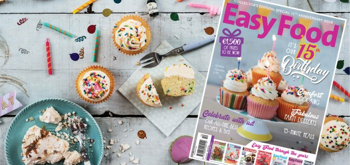 Easy Food 134 October 2018 15th birthday