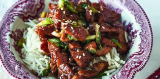 Ginger honey pork stir fry Easy Food