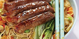 Steak and pak choi stir-fry Easy Food