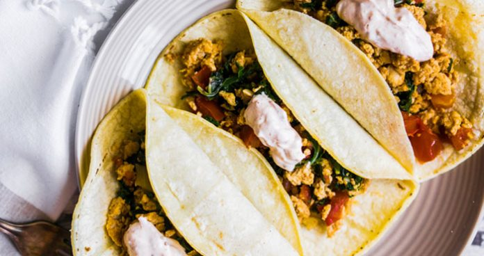 Chicken tacos with dip Easy Food