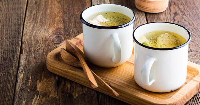Ways with broth Easy Food