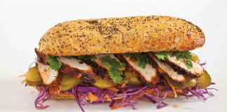 Asian Spice Baguette Easy Food