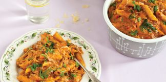 One-pot cheesy beef penne Easy Food