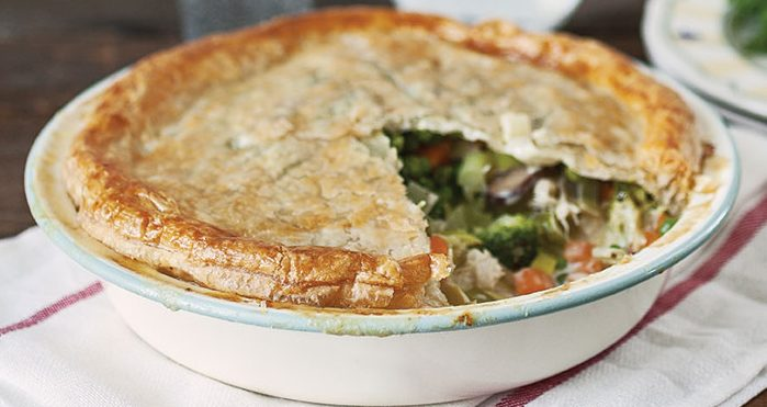 Chicken and broccoli pie Easy Food