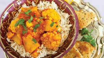Potato and cauliflower curry Easy Food