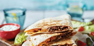 cheeseburger quesadilla wedge salad Easy Food