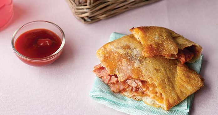 Ham and cheese pockets Easy Food