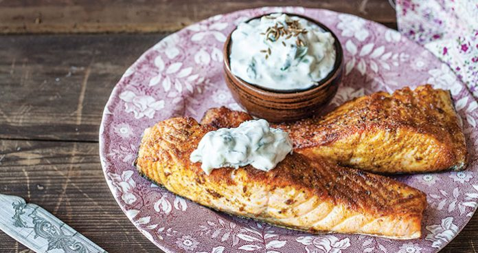 Indian spiced salmon Easy Food