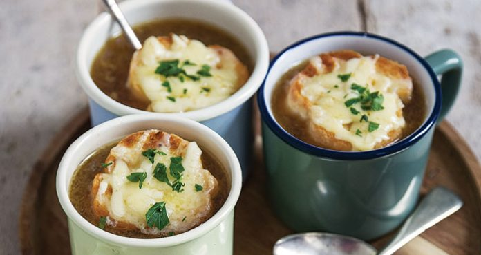 French onion soup Easy Food