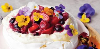 Summer stunner pavlova Easy Food