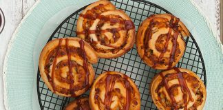 BBQ pizza pinwheels Easy Food