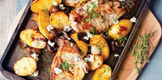 Pork chops with balsamic Easy Food