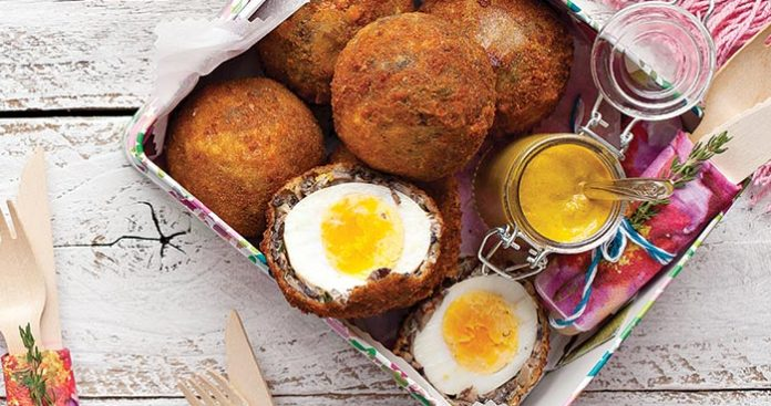 Mushroom Scotch egg Easy Food