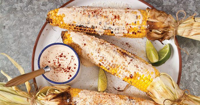 Mexican street corn on the cob Easy Food