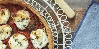 Summer tomato tart Easy Food