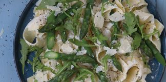Ricotta and asparagus pasta Easy Food
