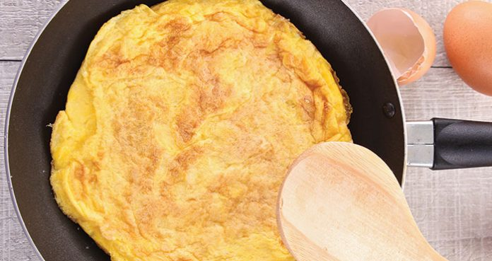 Classic omelette Easy Food