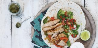 Classic chicken fajitas | Easy Food