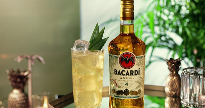 Bacardi Cuatro rum Easy Food