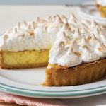 Baked lime and coconut pie | Easy Food