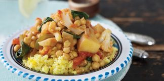 Chickpea and vegetable curry Easy Food