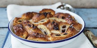 Pain au chocolat French toast bake Easy Food