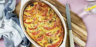 Crustless protein-packed quiche   Easy Food