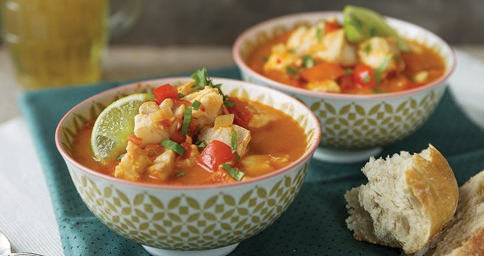 Caribbean fish curry Easy Food