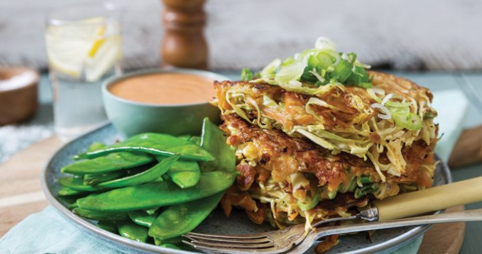 Japanese cabbage fritters Easy Food